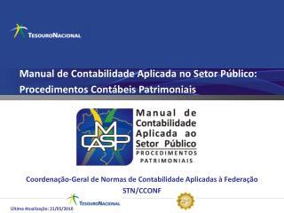 Manual de Contabilidade Aplicada no Setor Público:  Procedimentos Contábeis Patrimoniais