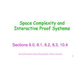 Based on  Powerpoint  slides by  Giorgi Japaridze , Villanova University