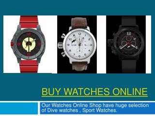 Buy Luxury Watches