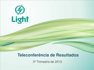 Teleconferência de Resultados
