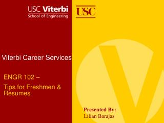 Viterbi Career Services