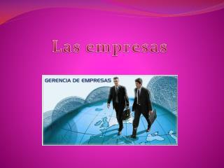 Las empresas