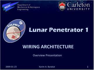Wiring architecture