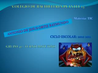 """""""COLEGIO DE BACHILLERES PLANTEL 13"""""""