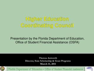 Higher Education  Coordinating Council