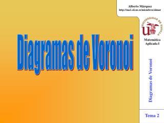Diagramas de Voronoi