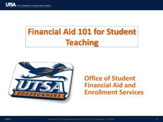 Financial Aid 101 for Student Teaching