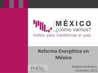 Reforma Energética en México