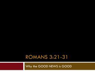 Romans 3:21-31