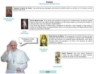 Promesas http:santisimavirgen.ar
