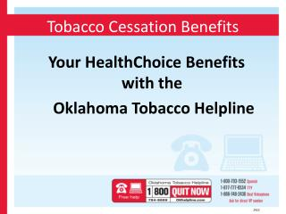 Tobacco Cessation Benefits