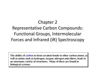 Carbon-carbon Covalent Bonds