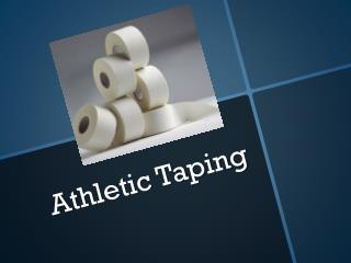 Athletic Taping