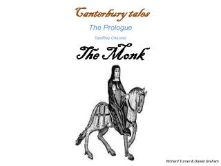 Canterbury tales The Prologue Geoffrey Chaucer