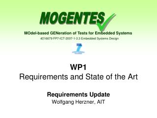 WP1 Requirements and State of the Art