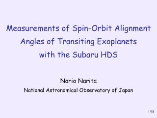 Measurements of Spin-Orbit Alignment Angles of Transiting Exoplanets with the Subaru HDS