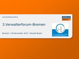 Bremen | 20.November 2012 | Ronald Bosch