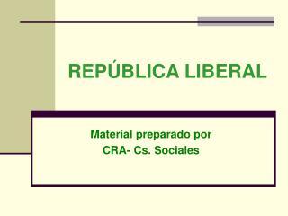 REP BLICA LIBERAL