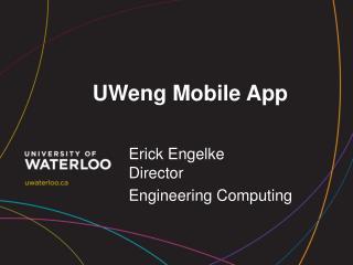 UWeng  Mobile App
