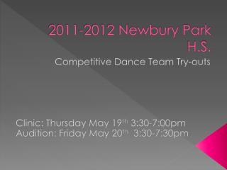 2011-2012 Newbury Park H.S.