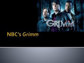 NBC's  Grimm