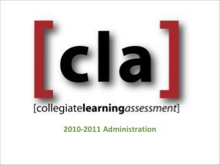 2010-2011 Administration