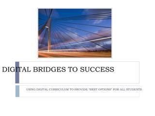 Digital Bridges to success