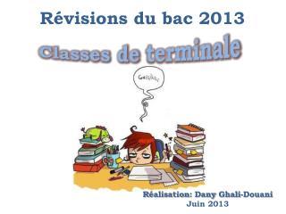 Révisions  du  bac  2013