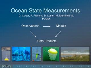 Ocean State  Measurements