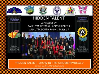 HIDDEN TALENT- SHOW BY THE UNDERPRIVILEGED January 11, 2014,  Manovikas  Kendra