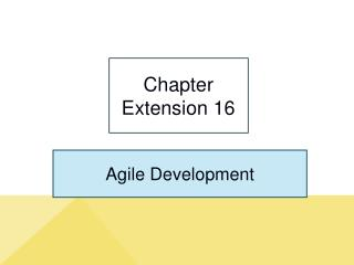 Chapter Extension 16