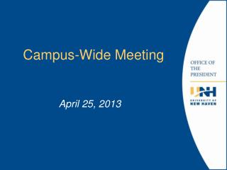 Campus-Wide  Meeting