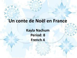 Un conte de Noël en France