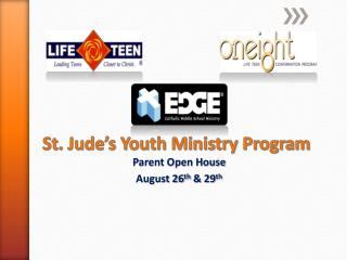 St. Jude's Youth Ministry Program