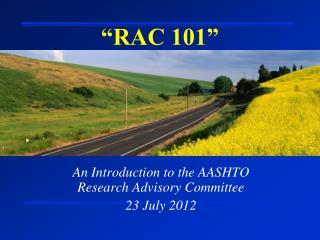 """""""RAC 101"""""""