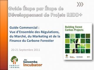 Guide Étape par Étape de  Développement de Projets REDD+