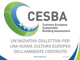 Un'iniziativa  collettiva per una nuova cultura europea dell'ambiente costruito