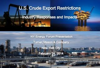 NY Energy Forum Presentation Turner, Mason & Company