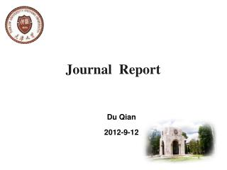 Journal  Report