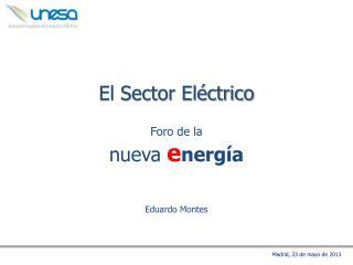 El Sector Eléctrico