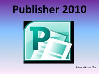 Publisher 2010