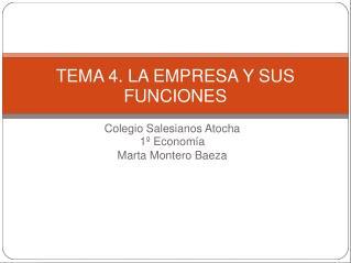 Colegio Salesianos Atocha 1º Economía Marta Montero Baeza