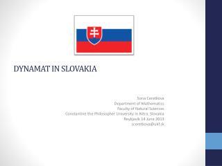 Dynamat  in  slovakia