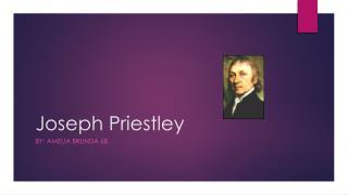 Joseph Priestley
