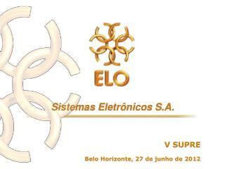 Belo Horizonte, 27 de junho de 2012