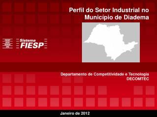 Avalia��o do Plano de Desenvolvimento Produtivo Departamento de Competitividade e Tecnologia