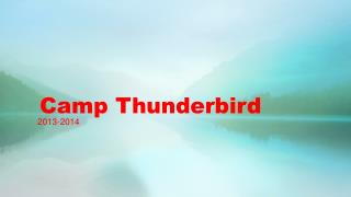 Camp Thunderbird