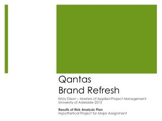 Qantas Brand Refresh
