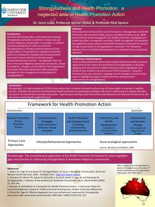 Strongyloidiasis  and Health Promotion:  a neglected area of Health Promotion Action