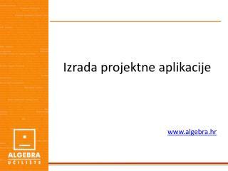 Izrada projektne aplikacije